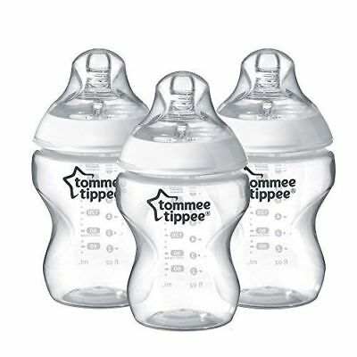 Tommee Tippee - Closer To Nature 260ml/9oz Bottles X 3
