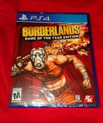 NEW! *LOW PRICE* IN HAND! RARE Borderlands Game of the Year PS4 PlayStation