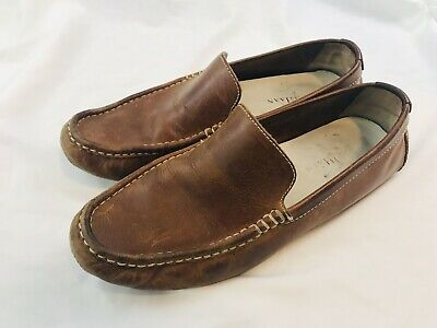 a018d7bd259 COLE HAAN SOMERSET Venetian C11401 Men s Brown Leather Driving Mocs ...