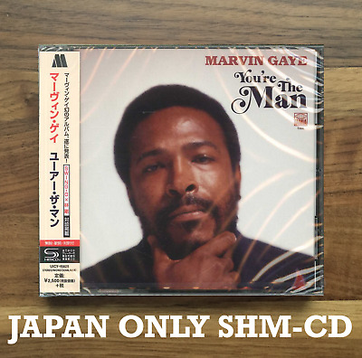 Japan Only Shm-Cd Shipped From Berlin! Marvin Gaye You're The Man 2019 Preorder