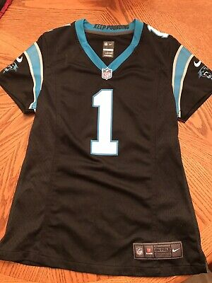 finest selection aaf3b 380db NIKE ON FIELD Cam Newton Jersey Youth XL EUC Carolina ...