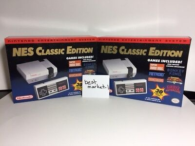 Authentic Nintendo Entertainment System NES Classic Edition Mini Brand New