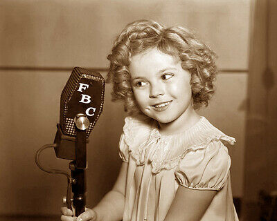 Shirley Temple Singer Actress Hollywood Movie Star Sepia Photo