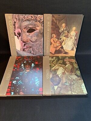 Time Life Great Ages of Man Series Hardcover Book lot  of  1960's  Greece Faith