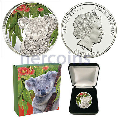 Doggie 1Oz Silver Coin Cook Islands 2011 $5 The kitten named Woof