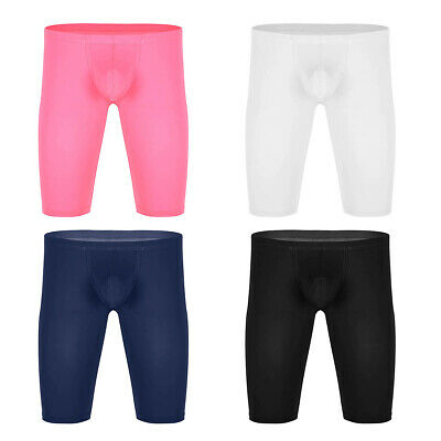 Mens Sport Compression Shorts Pants Gym Fitness Bodybuilding Running Dance Tight