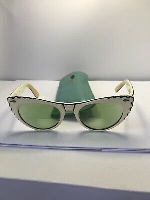 Vintage Cat Eyes Mid Century Modern CALOBAR Tinted Lenses With Case
