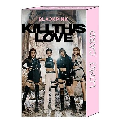 Kpop Blackpink Kill This Love Lomo Photo Card New Album Photocard Poster 32pcs