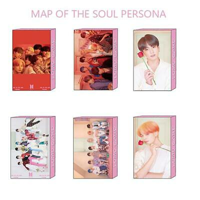 Kpop BTS Map of The Soul: Persona Lomo Photo Card JIMIN V Paper Photocard Poster