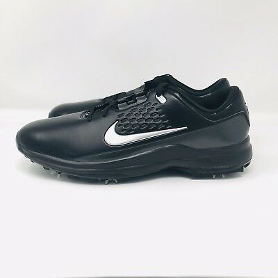 d7b88938fb941  150 Nike Mens Tiger Woods Air Zoom TW71 AA1990 002 Black Golf Shoes Cleats  Size