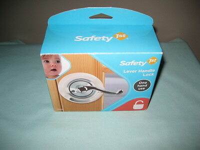 Safety 1St Lever Handle Lock #48400-New