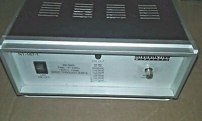 NOISE GENERATOR.Micronetics NT-187-1 & 20 Foot Wilson.. Low  Loss Cable N Ends
