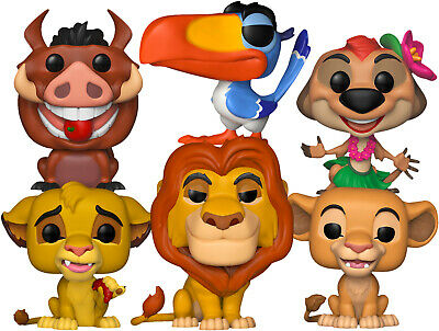 The Lion King - I Just Can't Wait To Be A Pop! Vinyl Bundle (Set of 6)