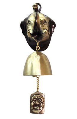 Elephant Solid Casting Door Bell _ Bronze Casting Wind Chimes _ Hanging Bell