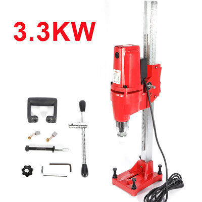 Wet Core Drilling rig Ø165mm 3300W Stand Core Press Drill Machine 220V 60Hz EU