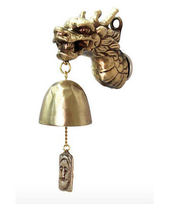 Dragon Solid Casting Door Bell _ Bronze Casting Wind Chimes _ Hanging Bell