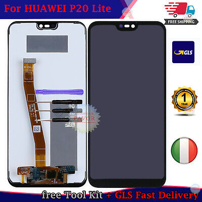 LCD Display cellulare Per Huawei P20 Lite Touch Screen Schermo p20 lite ANE-LX1