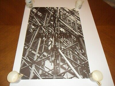 Joy Division An Ideal For Living Original Promo Poster 1978