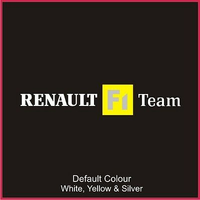 Renault F1 Team Decal Older Style, Clio, Vinyl, Sticker, Graphics,Car, N2065