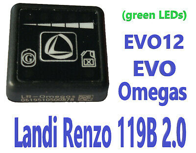 Landi Renzo 119B 2.0 LPG GPL switch for Omegas, EVO, EVO12, Direct,GENUINE