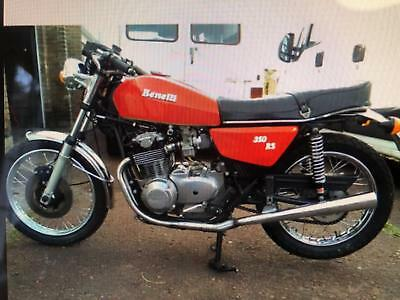 Benelli 350 RS- RARE SPOKED WHEELS -1977