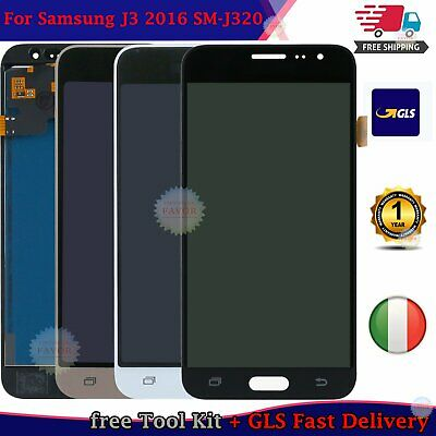 Display Per Samsung Galaxy J3 2016 J320 Sm-J320Fn Schermo Vetro Lcd Touch Screen