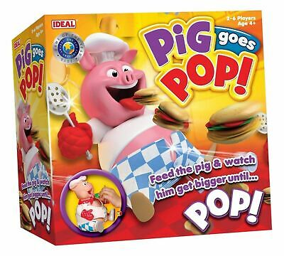 Pig Goes Pop Fed The Pig And Watch Him Get Bigger Until Fun-filled Action Game