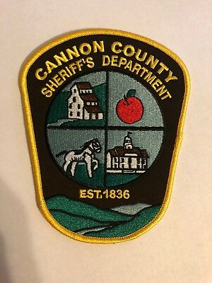 CARROLL COUNTY TENNESSEE TN Protect And Serve SHERIFF POLICE