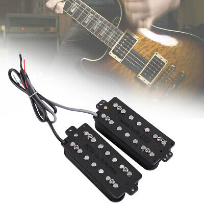 Alnico 5 Magnet Humbucker Pickup Set Replacement for 7-string Electric Guitar