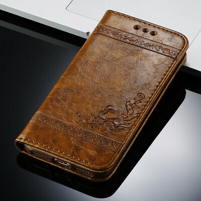Luxury Leather Magnetic Flip Wallet Case Cover Stand For iPhone 8 7 6 5 X XS Max