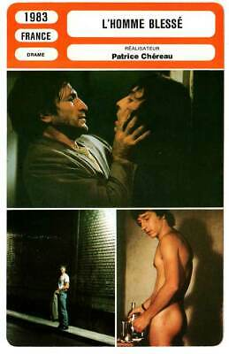 FICHE CINEMA : L'HOMME BLESSE - Anglade,Chéreau 1983 The Wounded Man
