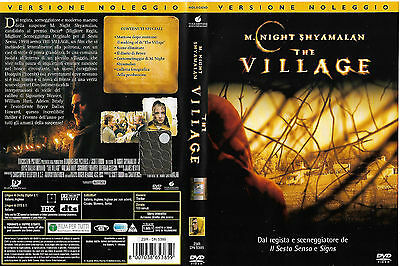THE VILLAGE (2004) dvd ex noleggio