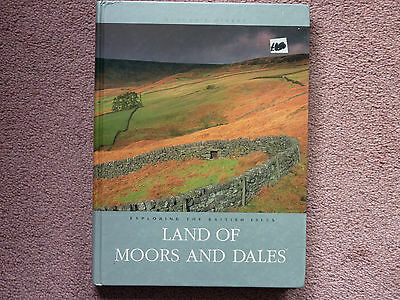 "038]--- Readers Digest Land Of Moors And Dales--1999 - Hard Back - 9""X11"" Approx"