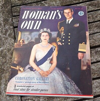 VINTAGE WOMAN'S OWN MAGAZINE May 28th 1953