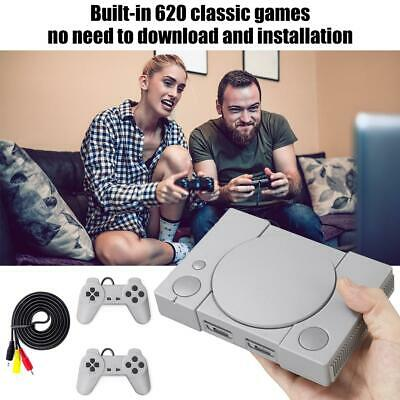 Brand New Classic Mini PS1 Game Console With 620 Games Mini Double Battle GameUS