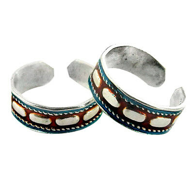 Jewelry & Watches Fashion Jewelry Toe Ring Solid 925 Sterling Silver Adjustable Body Jewelry Traditional Zs253