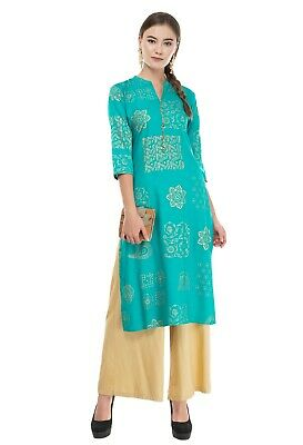 Indian Summer New Design Print Women Ethnic Style Dress Top Tunic Kurta Kurti