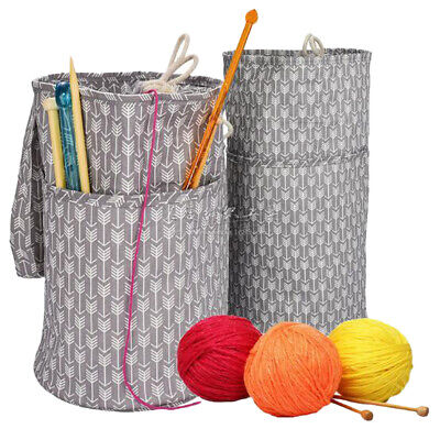 Sewing Boxes /& More Sheep Design Choice Knitting Bags Crochet Sets Craft Bags
