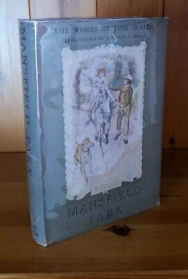 Mansfield Park - Illustrated by Brock - Works Of Jane Austen Dent Book 1st 1950