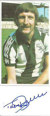 Football Autograph Tony Brown West Bromwich Albion Signed Picture F557