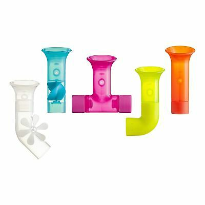 Boon PIPES - Multicoloured Bath Wall Connecting Suction Cup Bathtime Toy