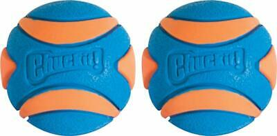 Chuckit Ultra Squeaker Ball Durable High Bounce Chewable Dog Toy S>L FREE SHIP