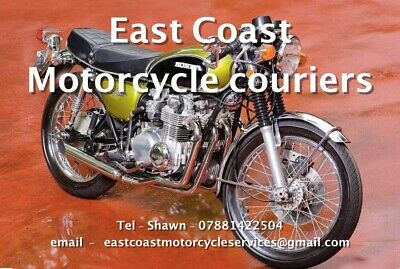 MOTORCYCLE COURIER AVAILABLE, nationwide deliveries. from £75