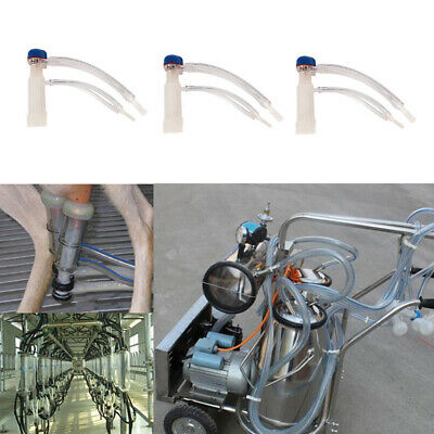 3Pcs Sheep Goat Milking Cluster Group Milk for Milking Machine Parts