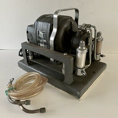 Vintage J Sklar Moorhead Treatment Unit Vacuum Compressor Dental Steampunk Works