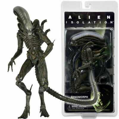"NECA Isolation Warrior Alien Xenomorph 7"" Action Figure Aliens Series 6 1:12 New"