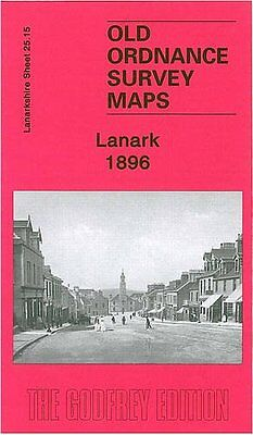 Old Ordnance Survey Map Lanark 1896