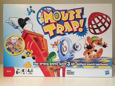 Hasbro Mouse Trap! 2011 - Crazy game with 3 all-action contraptions!      K1