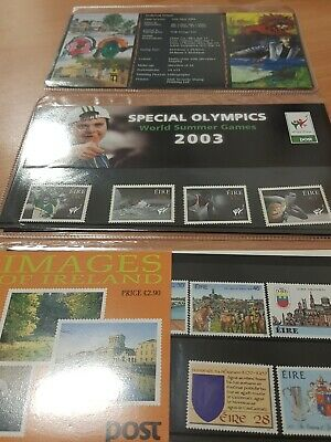 Irish Stamps Childrens Art, Special Olympics & Images of Ireland.