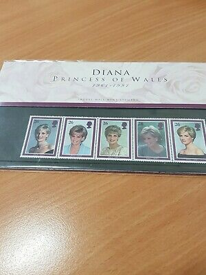 Royal Mail Mint Stamps Diana Princess of Wales